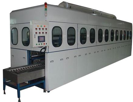 全自动液压零件清洗磷化生产线